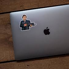 Say Hello To My Little Friend Scarface Vinyl Sticker Neo Tactical Gear
