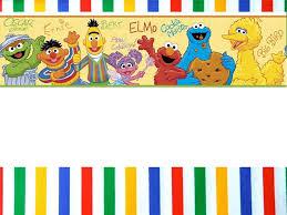 Custom Sesame Street Invitation Card Fiesta De Elmo Plaza
