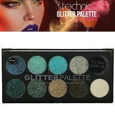 makeup mermaid pressed glitter palette