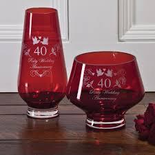 crystal gift boxed ruby heeled vase
