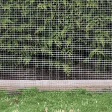 Wire Mesh Lawn Barrier Chain Link Fence Chain Fence