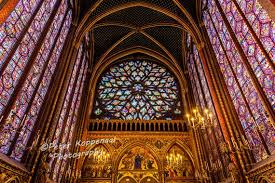 sainte chapelle paris stain glass