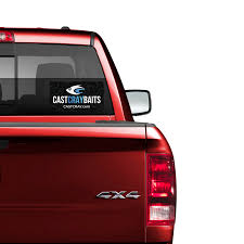 Truck Window Decal Cast Cray Outdoors