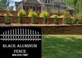 Black Aluminum Fence At Bonanza Fence Panels Home Garden