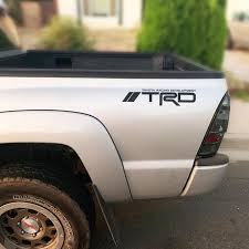 Trd Stickers Decals Toyota Tacoma Tundra Off Road Sport 2pc Etsy