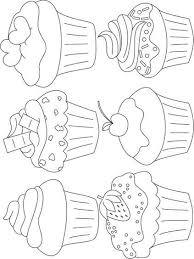 Cupcakes 12 Topkleurplaat Nl