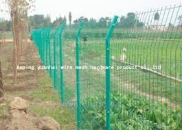 Steel Bar Welded Wire Mesh Fencing Galvanized Metal Fence Panels For Highway