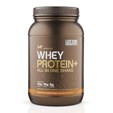 whey protein plus all in one life