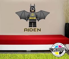 Lego Wall Australia Batman Symbol Decal Grey Fathead Art Themed City Movie Vinyl Superhero Vamosrayos