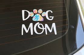 Dog Mom Decal Lily Inspired Decal Dog Mom Sticker Adhesive Car Decal Cup Decal With Images Cute Car Decals Lily Inspired Decals Car Decals