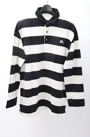 burberry black label horizontal stripe