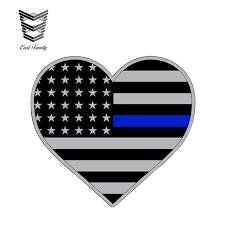 Earlfamily 13cm X 11 1cm Blue Line Sticker Decal Heart 2nd Amendment Gun Law Enforcement Usa Flag Lives Matter Sheriff Love Car Stickers Aliexpress