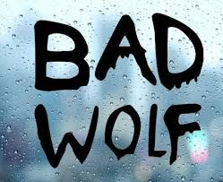 Bad Wolf Doctor Who Car Decal Sticker Etsy