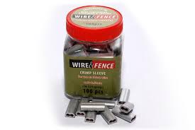 Crimp Sleeves Wire And Fence