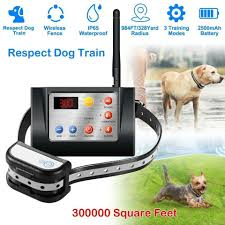 Wireless Dog Fence With Multiple Collar Common Panda