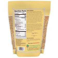 red mill organic whole ground flaxseed meal