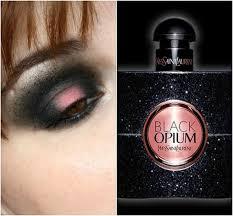 black opium by ysl inspired makeup