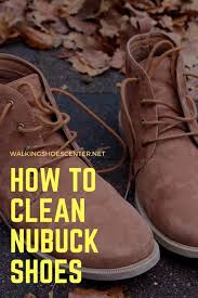 how to take care of nubuck shoes at