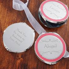 personalized makeup mirrors bridal party