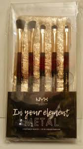nyx 5 pc makeup brush set in your