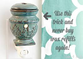 scented wax candle warmer refills