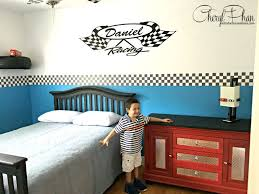 How To Design A Race Car Boys Bedroom Lightening Mcqueen Bedroom Cars Bedroom Decor Boys Bedroom Themes Baby Wallpaper Border