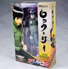 Bandai Tamashii Nations Naruto Shippuden - Rock Lee S.H. Figuarts Action  Figure - Walmart.com - Walmart.com