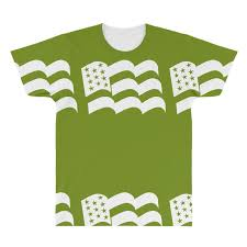 Custom American Flag Sticker Vinyl Decal Usa Stars United States Country Ca All Over Men S T Shirt By Mdk Art Artistshot