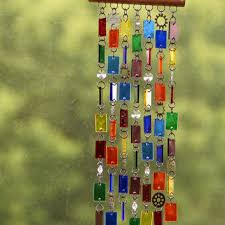 best stained glass wind chimes products