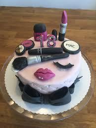 Beauty Cake Tortas De Maquillaje Torta Para Chicas Pastel Cosmeticos