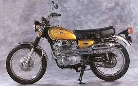 1972 honda cl350 ama motorcycle hall