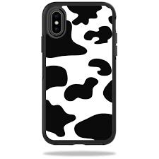 Skin Decal For Otterbox Symmetry Iphone X Or Xs Case Sticker Cow Print Walmart Com Walmart Com