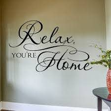 Decal Home Large Relax Wall Wall Quotes Classroom Wall Quotes Decals Wall Quotes Decals Kitchen Wall Quotes Decals Of In 2020 Wall Decals Wine Wall Decal Wall