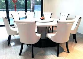 extendable round dining table seats 8