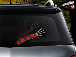 Freddy Krueger Nightmare Arm Wiper Blade Decal Shut Up And Take My Money