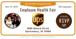 ups spartanburg 2019 health fair iab