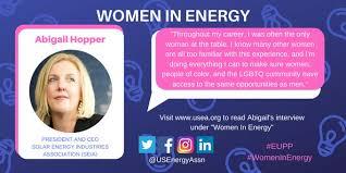 Women in Energy: Abigail Ross Hopper | SEIA