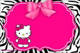 Imprimibles De Hello Kitty Para Decorar Cumpleanos Kits Para