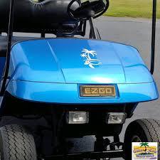 Blue Bright Metallic Gloss Golfcargraphics Com In 2020 Golf Car Golf Carts Car Wrap
