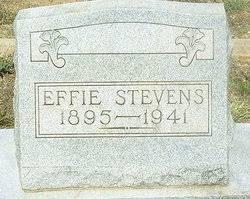 Effie Stevens (1895-1941) - Find A Grave Memorial