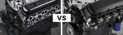 big block vs small block engines cj