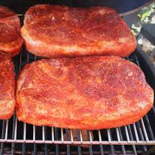 grilled pork steaks bush cooking