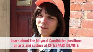 Citizen Artist Baltimore Abbey Parrish Arts Voter - YouTube