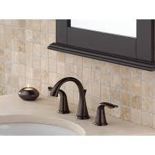 handle widespread bathroom faucet