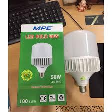 Bóng Đèn Led Bulb Mpe 50w (thân nhôm tản nhiệt tốt)