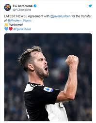 Pjanic: ufficiale al Barcellona! | Calcio Style - Notizie e news ...