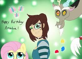 Happy Birthday, Amelia! by edCOM02 on DeviantArt