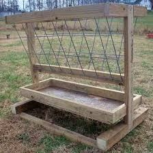 How To Build A Hay Feeder For Smaller Livestock Grit