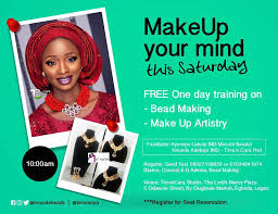 setting up a make up business