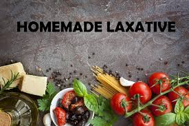 make homemade laxative by yourself